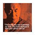 Dalai Lama: Fearless & Free Kunsttryk