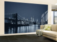 Brooklyn Bridge, New York, USA Wall Mural  Large af Jon Arnold