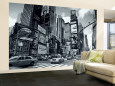 Times Square, New York City, USA Wall Mural  Large af Doug Pearson