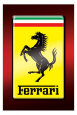 Ferrari Plakat