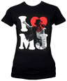 Juniors: Michael Jackson - I Heart MJ T-Shirt