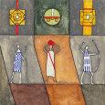 Abstrakte figurer (dekorativ kunst) Posters