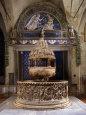 Baptismal Font Fotografisk tryk