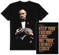 The Godfather - Keep Your Friends Close, But Your Enemies Closer T-Shirt