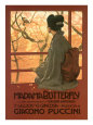 Madame Butterfly Poster Lmina gicle