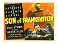 Son of Frankenstein (1939) Posters