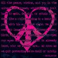 Peace Sign IV Kunsttryk af Sylvia Murray