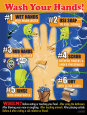 Hand Washing Umělecká reprodukce