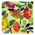 Floral Tile I Gicleetryck av Kim Parker