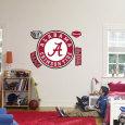 Alabama Crimson Tide Circle Logo Vinilo decorativo
