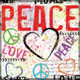 Peace Art Print by Louise Carey
