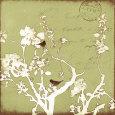 Song Birds II Kunsttryk af Amy Melious