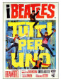 A Hard Day's Night, Italian Movie Poster, 1964 Giclée-tryk