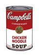 Campbell's suppe I:  Kylling og nudler, ca. 1986, Campbell's Soup I: Chicken Noodle, c.1968 Giclée-tryk af Andy Warhol