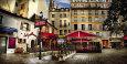 Metro Saint-Michel, Paris Umělecká reprodukce od Stephane Rey-Gorrrez