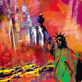 Statue of Liberty (Decorative Art) Posters