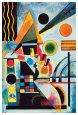 Balansering|Balancement (Kandinsky) Posters