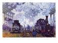 Gare Saint Lazare (Monet) Posters