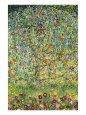 Apple Trees (Klimt) Poster