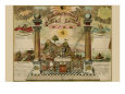 Symbols - Emblematic Chart and Masonic History of Free and Accepted Masons Kunsttryk