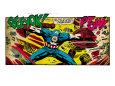 Marvel Comics Retro: Captain America Comic Panel, Fighting, Phase 1, So Far So Good! (aged) Umělecká reprodukce