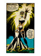 Marvel Comics Retro: X-Men Comic Panel, Storm (aged) Umělecká reprodukce