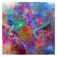 Abstract Digital Art (Decorative Art) Posters