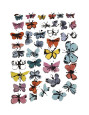 Butterflies, c.1955 Giclée-tryk af Andy Warhol