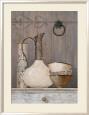 Artisan Collection I Indrammet kunsttryk af Arnie Fisk