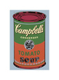 Campbell's Soup Can, 1965 (Green and Red) Giclée-tryk af Andy Warhol