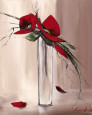 Floral Bud Vases (Decorative Art) Posters
