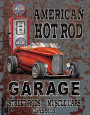 Legends - American Hot Rod Blikskilt