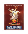 Caf Martin (Cappiello) Poster
