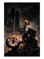 Ghost Rider Character (Marvel Collection) Posters