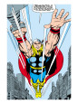 Mighty Thor (Marvel Vintage) Poster