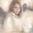 L'Ange Rebelle Kunsttryk af Elvira Amrhein