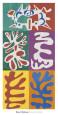 Panel with Mask, c.1947 Sanatsal Reprodüksiyon ilâ Henri Matisse
