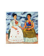The Two Fridas, c.1939 Kunsttryk af Frida Kahlo