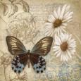 Botanisk collage (dekorativ kunst) Posters