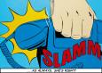 Slamm! Kunsttryk af Deborah Azzopardi