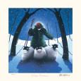 Winter Romance Sběratelské reprodukce od Mackenzie Thorpe