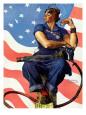 2. verdenskrig, propaganda (vintagekunst) Posters