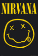 Nirvana - Smiley Plakat