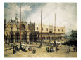 Town Squares (Fine Art) Posters