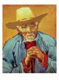 Old Peasant Giclée-tryk af Vincent van Gogh