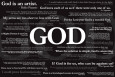 God Quotes Plakat