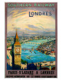 United Kingdom Travel Ads (Vintage Art) Posters
