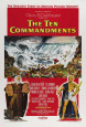 Ten Commandments (1956) Posters