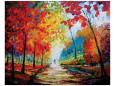 Autumn Impressions Giclee-tryk i høj kvalitet af Maya Green
