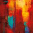 Abstrakt i rød (dekorativ kunst) Posters
